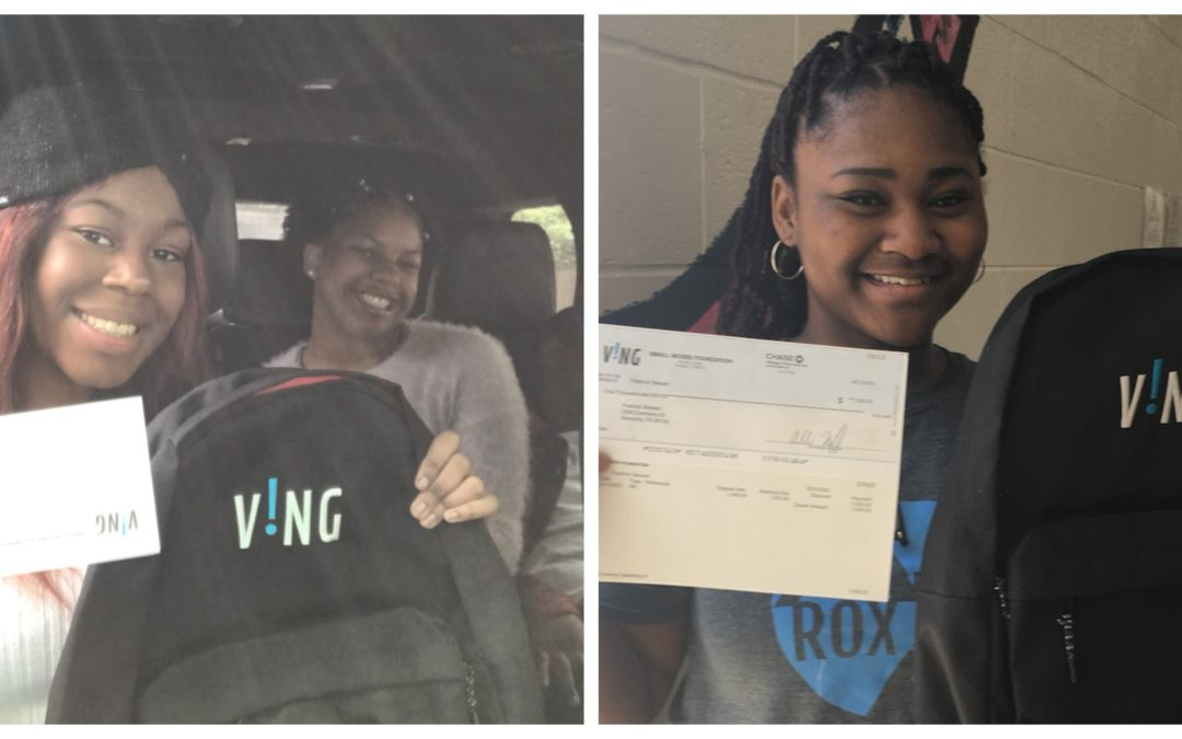 Soulsville Charter School students donate to friends in need through VING Project during COVID-19 distance learning
