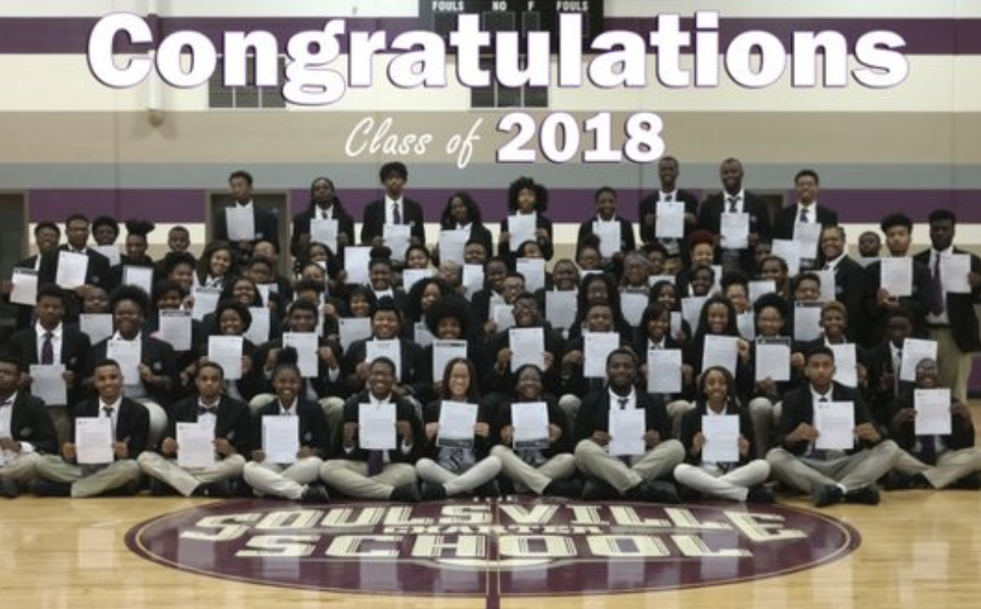 Entire Soulsville Charter School graduating class accepted to four year colleges, universities