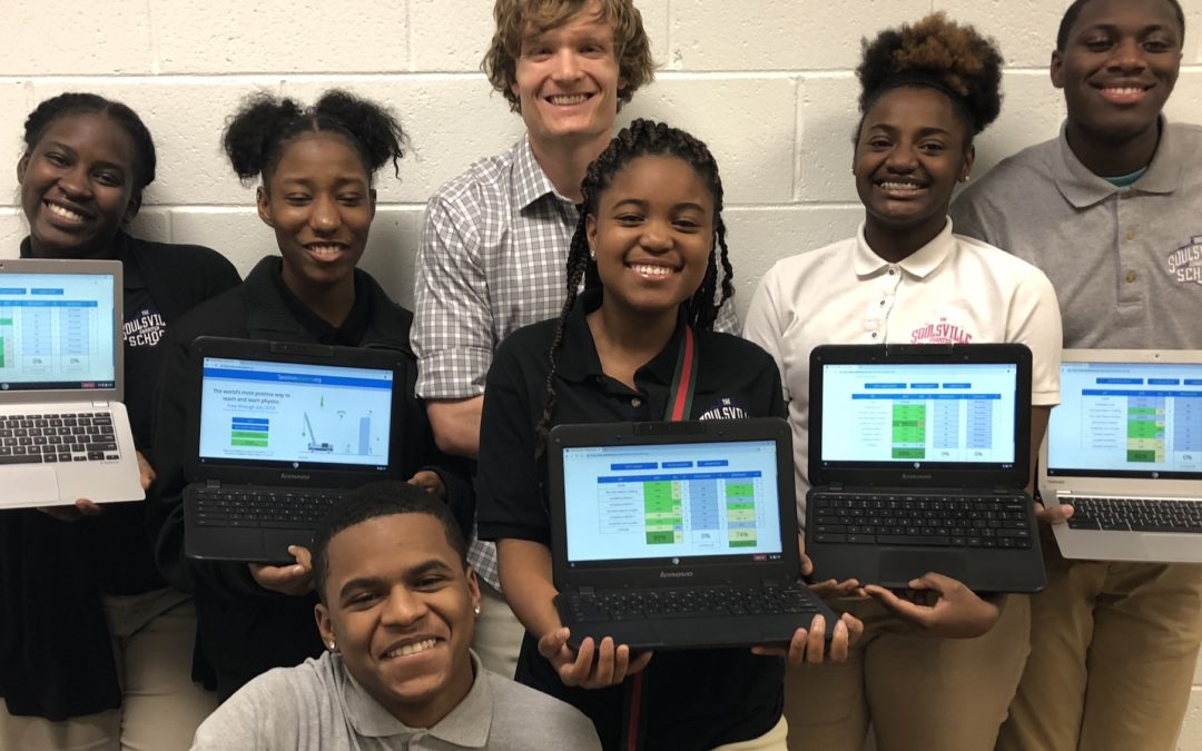 Soulsville Charter School teacher makes Physics website free during COVID closures, named TFA National Innovation Award finalist